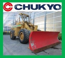 Kawasaki KLD65Z Used wheel loader for sale / Cab , Heater , GP bucket, Angling plow