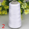 100%POLYESTER SEWING THREAD WHITE/COLOR