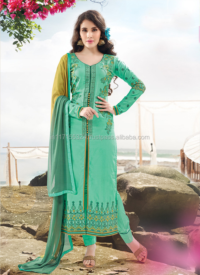 Pakistani Wholesale Salwar Kameez Simple Women Salwar Kameez