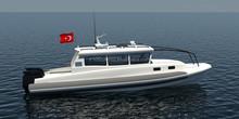 9m Fast RIB boat