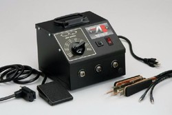 American Beauty Tools 105L7-220, High Capacity Tweezer-Style Resistance Soldering System, 220VAC