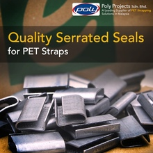 Serrated Seal, Buckle, Clip for PET Strapping