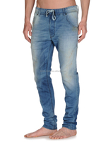 New Men's Crosshatch Twisted Carrot Fit Jeans
