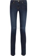 2015 International brand jeans/denim women boot leg skinny and slim fit design jeans women skinny jeans for women