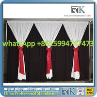 romantic wedding curtain, stage decoration backdrop fabric