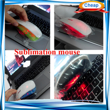 cheap 3D Sublimation blank mouse wireless price ,wireless gaming mouse , good for game advertising logo printing