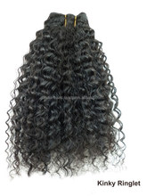 Atacado Top Quality Natural virgem Remy brasileiro trama do cabelo