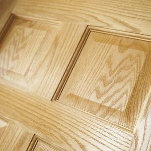 Unfinished solid oak slab doors six raised panel buy wood panel door design product on for 6 panel oak interior door slab