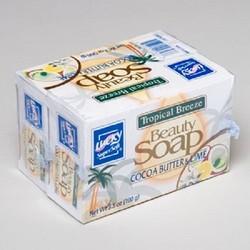 BAR SOAPS 2PK X 3.5OZ BARS COCOA BUTTER TROPICAL BREEZE #2627