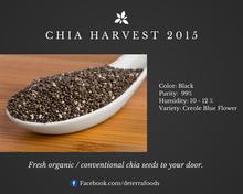 Chia Seeds - Conventional or Organic USDA & EU Certified
