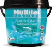 Multilac Platinum Aqua Gloss