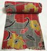 RTHKG-130 2015 latest Indian vintage vintage Print Kantha Quilt Decorative Bedspread, kantha Fruit design Bed Cover Jaipur