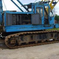 Used Hitachi KH150 crawler crane ,cheap Japan 150ton tracked crnae for sale
