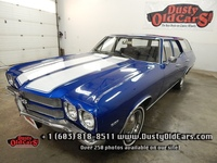 1970 Chevrolet Chevelle Concours Runs Drives Great Interior Body VGood 307V8 - See more at: www.dustyoldcars.com