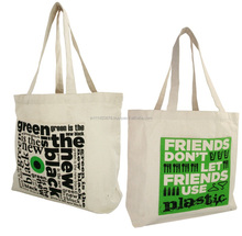OEM production shopping tote bag ,custom standard size canvas tote bag