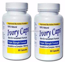 Wholesale - Pack of 2 - Ivory Caps Skins Lightening Whitening Support Pill