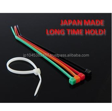 Precise thin plastic car cable tie strap product by nippon brand