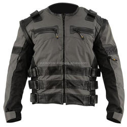 Stylish 100% water Proof Wind proof Leather Cordura Textile Motorcycle Biker Ce Approve Protective Ce Armour Jacket