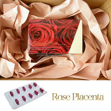 World's first damask rose placenta supplement for health and beauty products