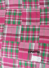 Check Indian Suit Patchwork Fabric