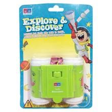 Young Mindz Explore & Discover Kids Binoculars Green