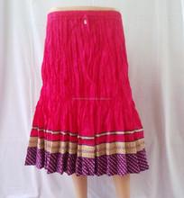 Silk Brocade Designer Ladies Skirts Online