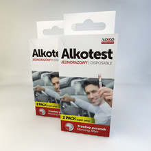 Alco2Go disposable breath alcohol tester