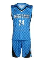 Sublimated custom popular basketball uniform manufacturer basketball uniform manufacturer