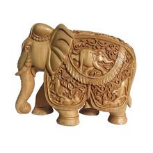 White Wood Elephants