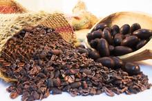 KAUZARINA CACAO BEANS COVERED WITH DARK CHOCOLATE