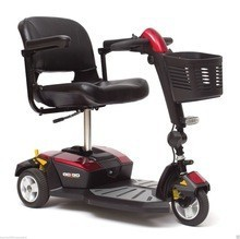 Free shipping for Pride Mobility Go-Go LX with CTS Travel Scooter SC50