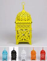 Moroccan style lantern-Wholesale hobby lobby hanging candle lantern-Moroccan Colorful Hanging Decorative Lanterns