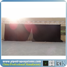 decorative bead door fashion wood curtain black motorized stage curtains for theater