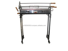 Cyprus Spit Basic-Body Roaster Charcoal BBQ Grill 2mm T SUS SP004-13es