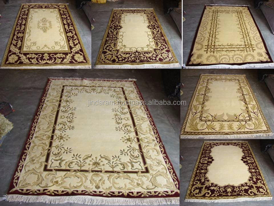 Indian pure silk machine made carpet collection.JPG