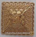 Chapado en oro dedo grande de la joyería suena proveedor de exportación