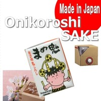 "[ ONIKOROSHI ] Delicious "" SAKE "" and Premium "" SAKE "" instead of korean rice wine for Professional 180ml x 30"