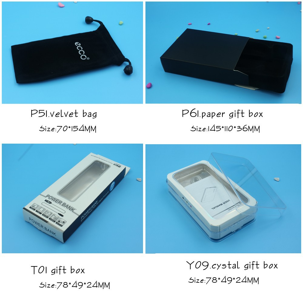 slim emergency power bank 4000mah portable outdoor backup battery charger