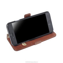 Genuine Leather Wallet Book Phone Case for Samsung S6 from Turkey