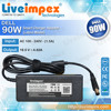 New high quality replacement dell 90w laptop chargers power supply 19.5V 4.62A for dell inspiron 1110, 1150, N3010, N1546