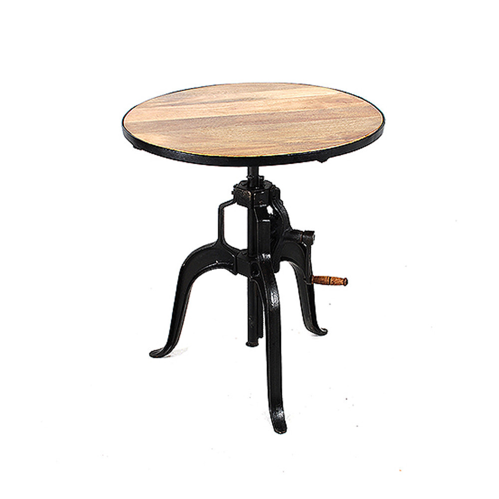 Industrial Crank Dining Cum Bar Table Buy Industrial