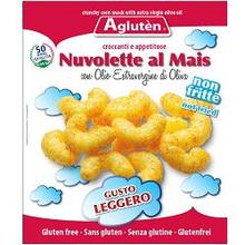 Agluten Nuvolette Corn On With Extra Virgin Olive Oil Gluten Free 45g