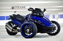 Latest Offer For Strasse Wheels - Can Am Spyder RS - Signature Series SM8 Motorcycle