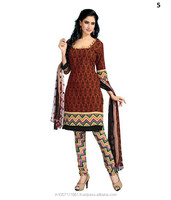 Cotton Printed Unstitched Dress Material