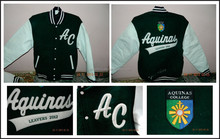 Customized College Jackets Class of 2015 /2014 School Jackets With School Logos Name Student Name At BERG