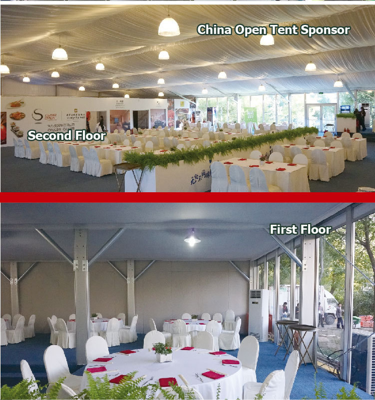 Experienced Aluminum Frame PVC Coated Clear Span Tent Manufacturer