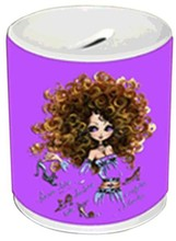 Sublimation heat transfer money saver coin saver mugs or cups
