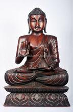 Buddha Statue Wood Carving