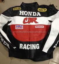 Honda deri yarış ceket. Motosiklet deri ceket
