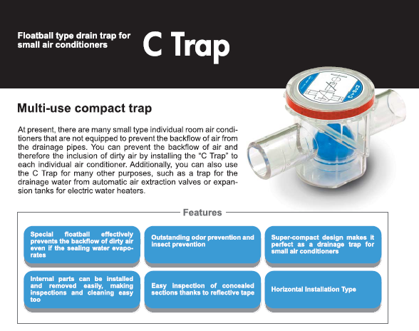c trap main